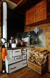 Cooking range Royalty Free Stock Images