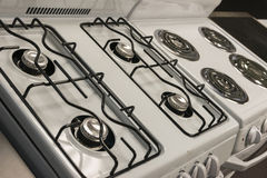Cooking range top Stock Photography