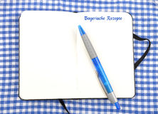 Cooking recipes Royalty Free Stock Photo