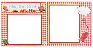 Cooking Scrapbook Frame Template