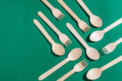 Cooking seamless pattern from forks and spoons