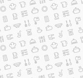 Cooking seamless pattern Royalty Free Stock Photo