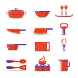 Cooking Set Stock Images