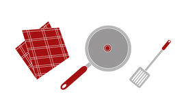 Cooking set Royalty Free Stock Images