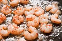 Cooking Shrimps Stock Photos
