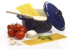 Cooking Spaghetti Royalty Free Stock Photos