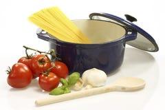 Cooking Spaghetti Stock Photos