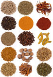 Cooking Spices. A range of cooking spices Stock Photo