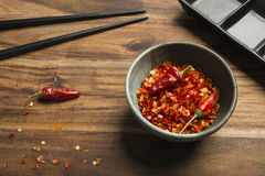 Cooking of spicy meal Stock Photography