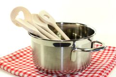 Cooking spoon Stock Images