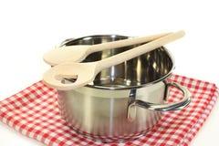 Cooking spoon Stock Photos