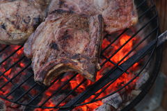 Barbeque steak Stock Photo