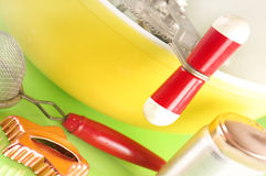 Cooking supplies Royalty Free Stock Photo
