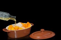 Cooking sweet pumpkin Stock Photography