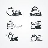 Cooking symbols Royalty Free Stock Photography