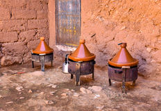 Cooking tagine meal Royalty Free Stock Image