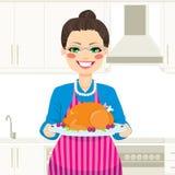 Cooking Thanksgiving Turkey Royalty Free Stock Photo