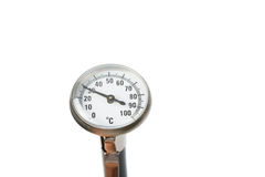 Cooking thermometer Royalty Free Stock Photo