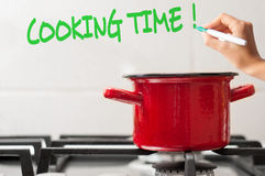 Cooking time Royalty Free Stock Photos