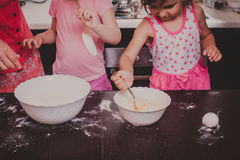 Cooking together Royalty Free Stock Photos