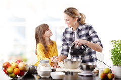 Cooking together Royalty Free Stock Photography
