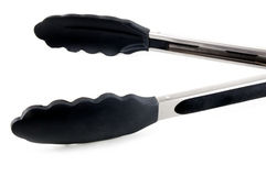Cooking tongs Royalty Free Stock Photography