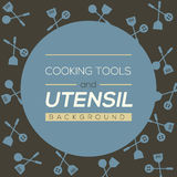 Cooking Tools And Utensil Background Stock Photos