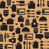 Cooking Tools And Utensil Background. Stock Images