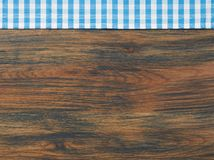 Cooking towel on table Royalty Free Stock Images