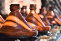 Cooking traditional Moroccan tajine Stock Photography