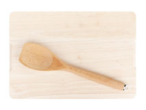 Cooking utensil on cutting board Stock Photo