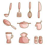 Cooking utensils Royalty Free Stock Images