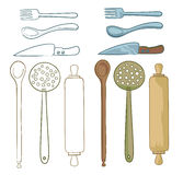 Cooking utensils Royalty Free Stock Image