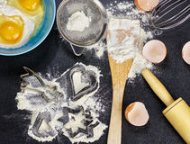 Cooking utensils Stock Photography