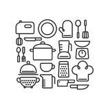 Cooking utensils Royalty Free Stock Photo