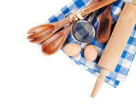 Cooking utensils. On white background Stock Photo