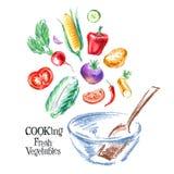 Cooking vector logo design template. fresh Stock Photos