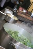 Cooking vegetable Stock Images