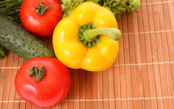 Cooking vegetables Stock Photo