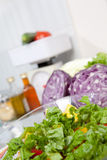 Cooking vegetables food Royalty Free Stock Photos