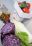 Cooking vegetables food Stock Image