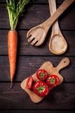 Cooking vegetables Royalty Free Stock Photo