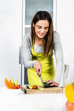 Cooking vegetables Royalty Free Stock Images