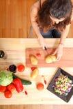 Cooking Vegetarian Stock Photos