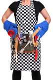 Cooking woman Stock Images