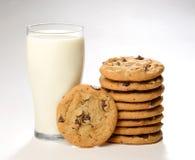 Cookis och att mjölka fotografering för bildbyråer