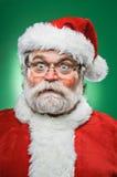 Cookoo圣诞老人 免版税库存照片