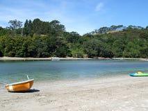 Cooks Beach, New Zealand stock image
