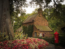Cooks' Cottage. (also known as Captain Cook's Cottage) is located in the Fitzroy Gardens, Melbourne, Australia royalty free stock photo