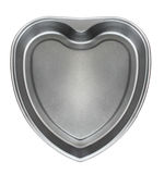 Cookware. Empty form for the baking/the form of the heart Stock Photos